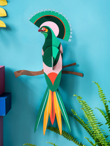BIRD OF PARADISE 3D WALL HANGING