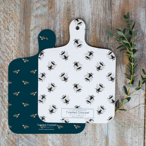 DOUBLE SIDED BEE MINI CHOPPING BOARD