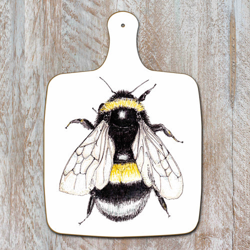 DOUBLE SIDED BEE CHOPPING BOARD