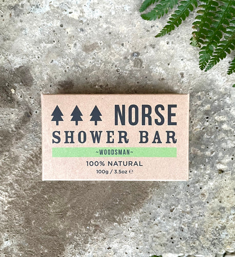 NORSE 100% NATURAL SHOWER BAR