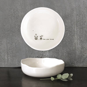 EAST OF INDIA TRINKET DISH - YOU ARE LOVED