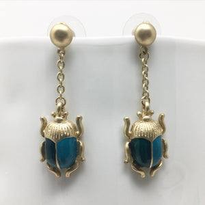 BEETLE STATEMENT EARRINGS