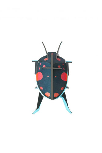 PAIR OF LADY BEETLES 3D WALL HANGING