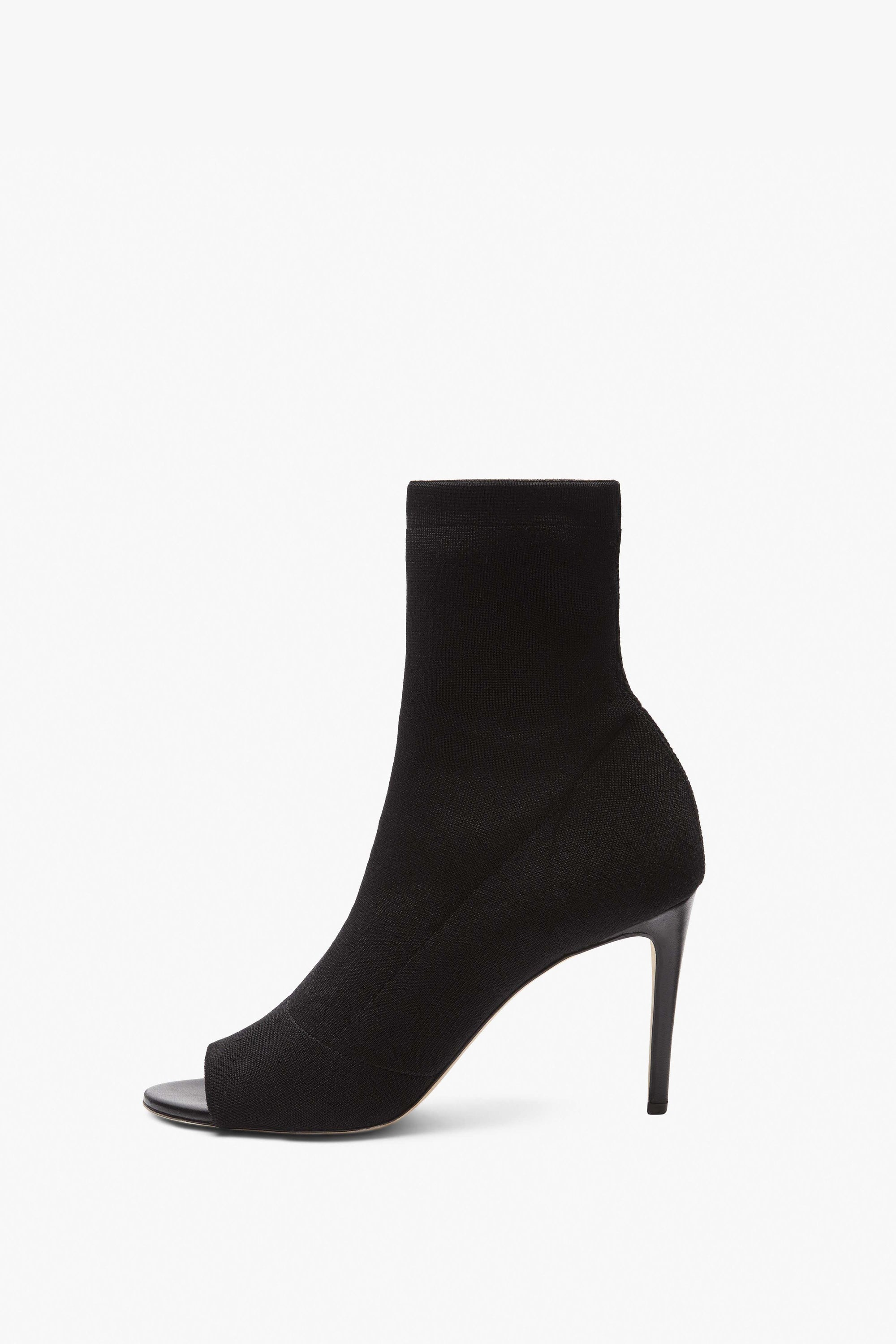 Sunday 90Mm Knitted Open Toe Ankle Boot