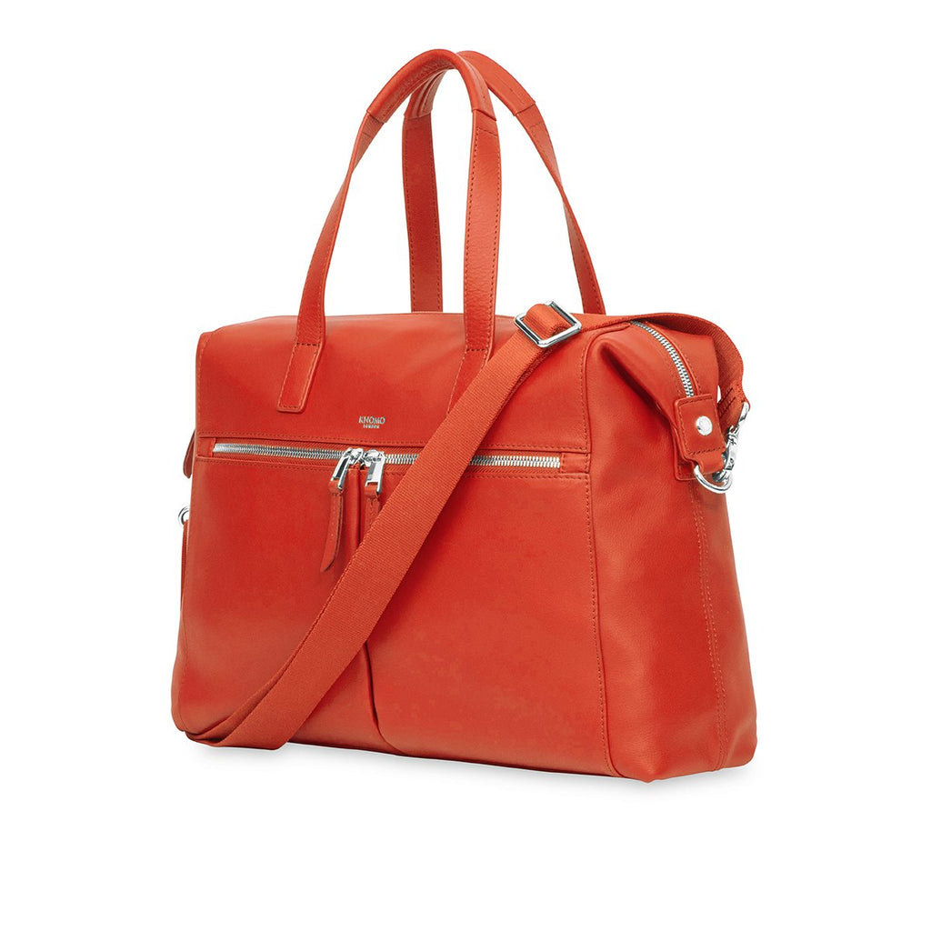"Audley 14"" Laptop-Ledertasche -"
