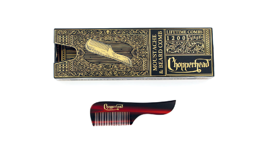 Mustache and Beard Comb 1200
