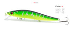 Saltwater fishing lure with 3D eyes - FREE shipping
