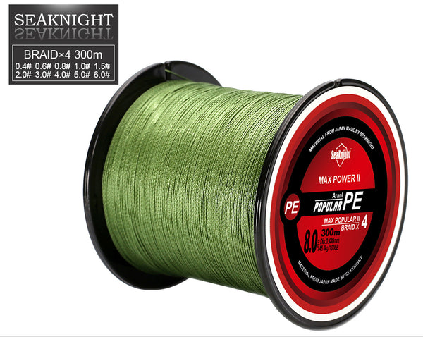 Multifilament PE Braided Fishing Line  - 330 Yards