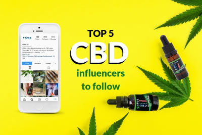5 CBD Influencers to Follow Online