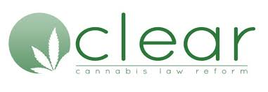 Clear - Cannabis law reform logo