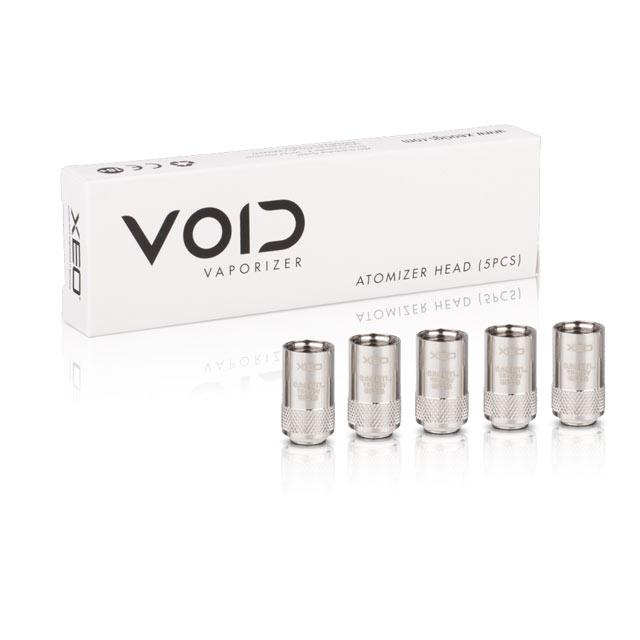 XEO VOID Replacement coils 0.6 ohm. For Vsavi CBD vape oils