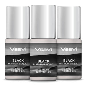 VSAVI Platinum E-Liquid 30ml Black Tobacco
