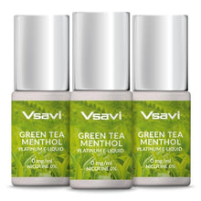 VSAVI Platinum E-Liquid 30ml Green Tea Menthol