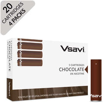 VSAVI Classic Cartridges 20 chocolate