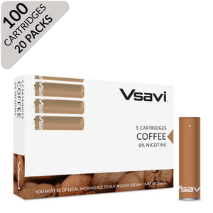 vsavi classic cartridges 100 pack coffee