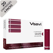 VSAVI Classic Cartridges 20 grape