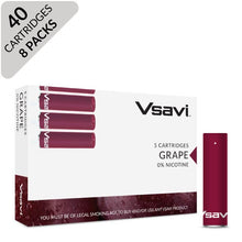 VSAVI Classic flavour carts 40 grape
