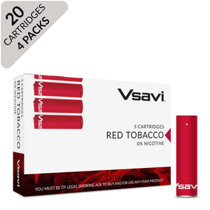 VSAVI Classic Cartridges 20 red tobacco