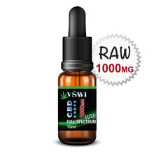 Our best raw CBD Oil Drops, 1000 mg. Full spectrum CBD
