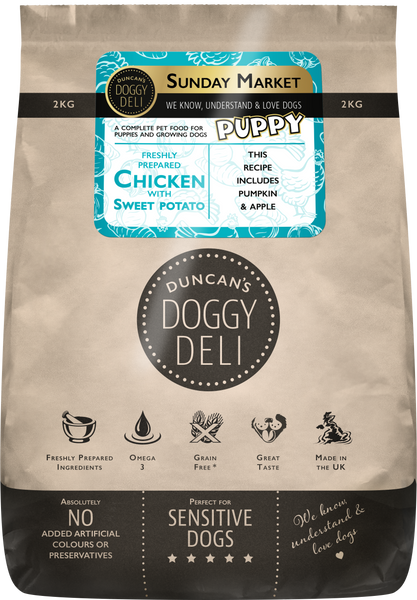 Pups Sunday Market Chicken | Puppy Food | 2kg - 10kg