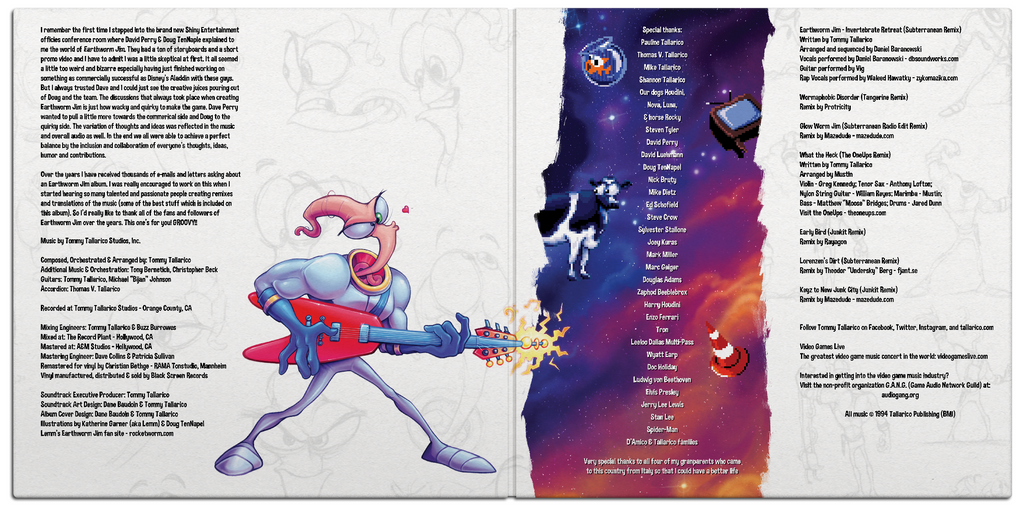 0b8420a85 Earthworm Jim Anthology by Tommy Tallarico – Black Screen Records