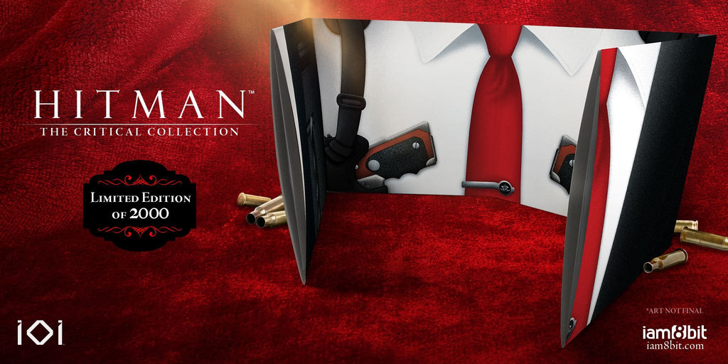 Hitman The Critical Collection By Jesper Kyd Black Screen Records