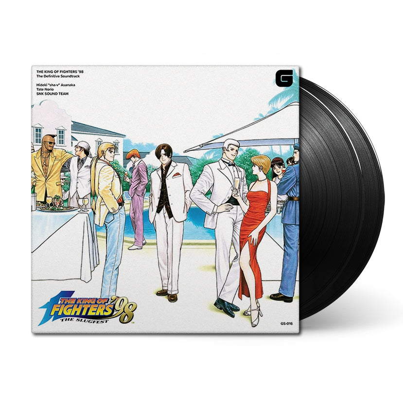 "King of Fighters '98 (The Definitive Soundtrack) by Hideki ""sha-v"" Asanaka"