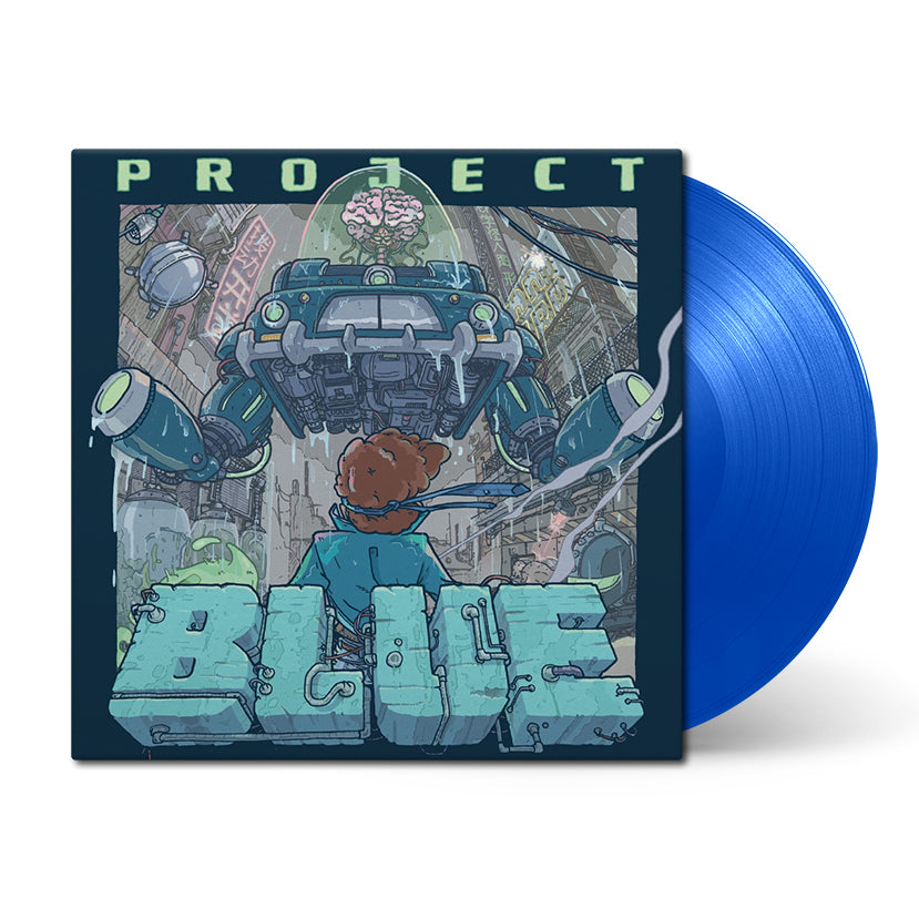 Project Blue (Original Soundtrack) by toggle switch