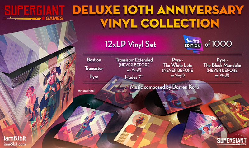 Supergiant Games: 10th Anniversary Vinyl Collection
