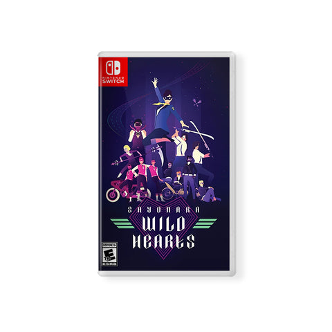 Sayonara Wild Hearts (Switch & PS4)