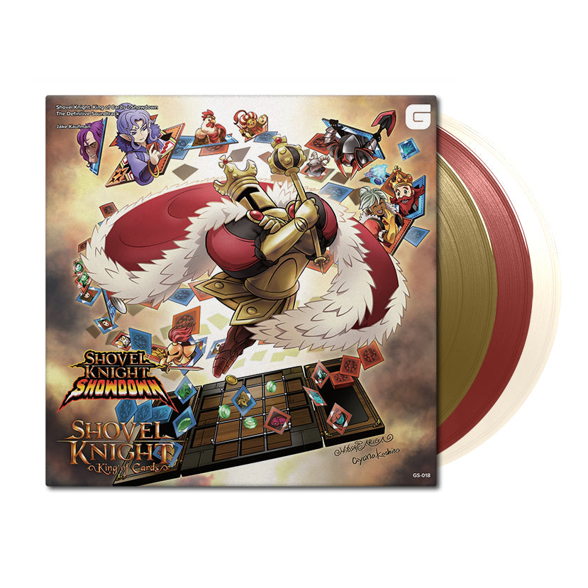 Shovel Knight: King of Cards + Showdown (The Definitive Soundtrack) by Jake Kaufman