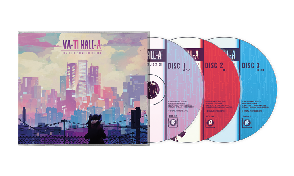 VA-11 HALL-A (Complete Sound Collection) by Garoad (CD