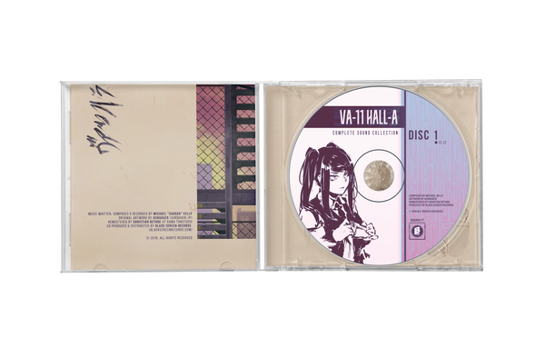 VA-11 HALL-A (Complete Sound Collection) by Garoad (CD)