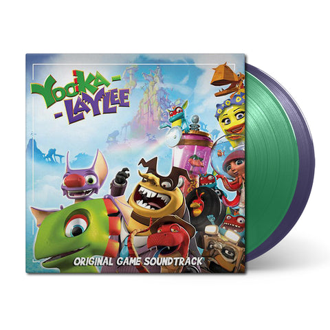 Yooka-Laylee (Original Soundtrack) by Grant Kirkhope, David Wise & Steve Burke
