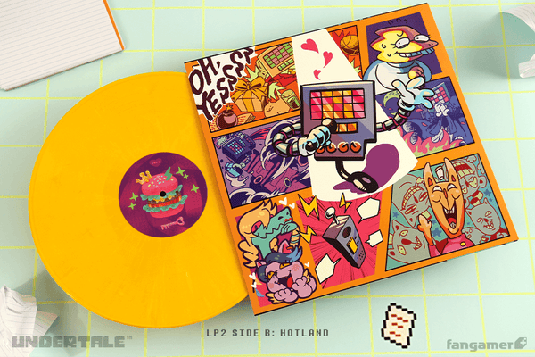UNDERTALE (Complete Vinyl Soundtrack Box) by Toby Fox