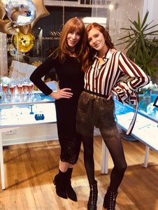 Mother daughter duo Clare and Denise Cirillo Co-founders of OverLay Fashion the ALL SHEER fashion company designed to transform your wardrobe.