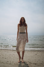 """Heartbreaker""  nude sheer lace skirt"