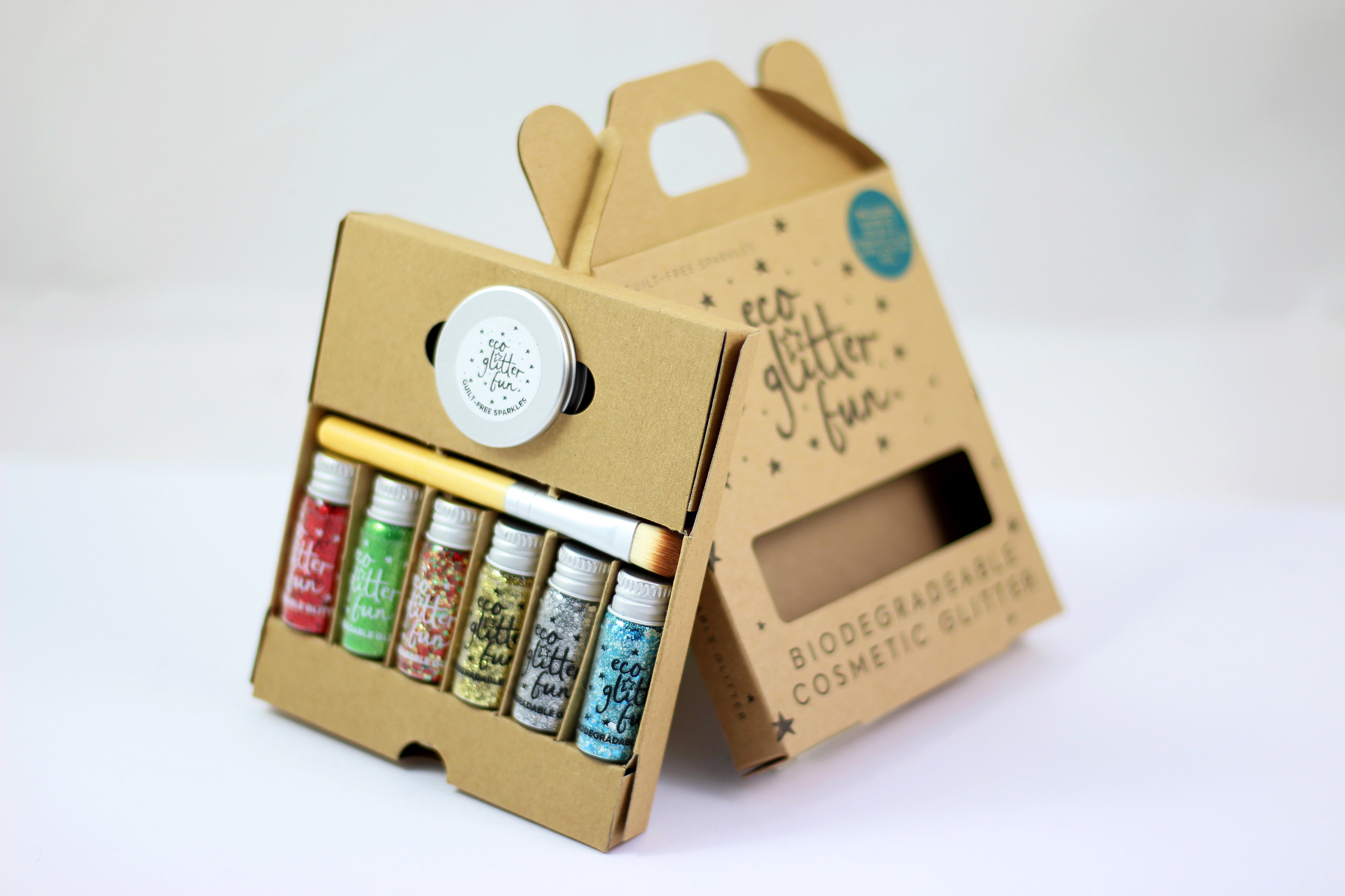 Eco Glitter Gift Boxes