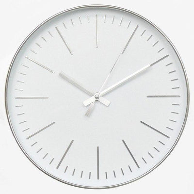 The Crown by Söderholm Wall clock Platinum Silver