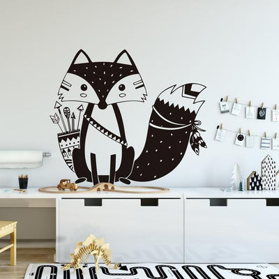 Lovely Fox by Hexa Wall Sticker