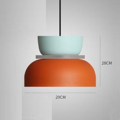 Super Polka Pendant Light Pendant lighting Orange / Large