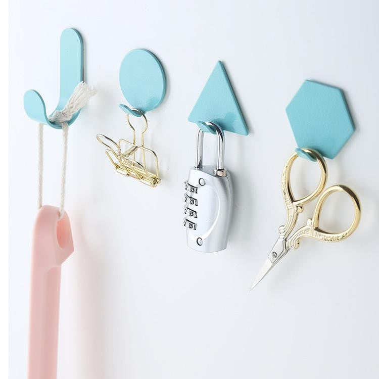 Capri & Pulp Nordic Inspired Wall Hook 4pcs Wall hook