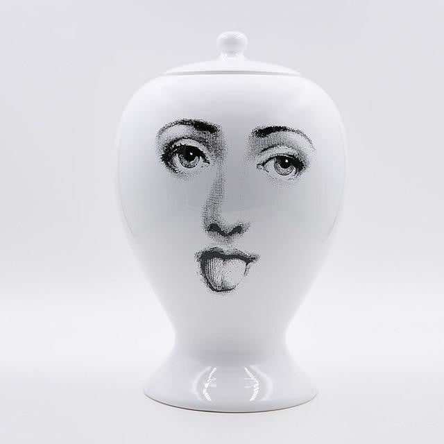 The Charm Lady by Henry Jacobsson Vase The Charm Lady / Funny