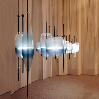 Chromatography by Ingrid Light Pendant light