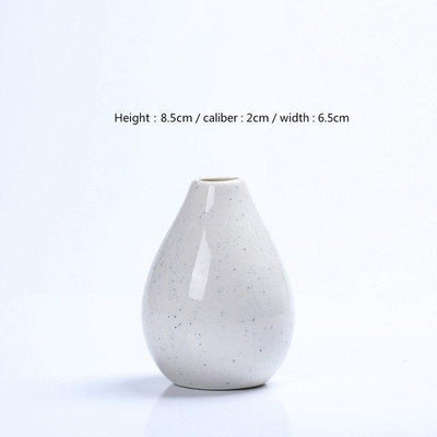 Karma by Jasmine Bergmann Vase Angel / White