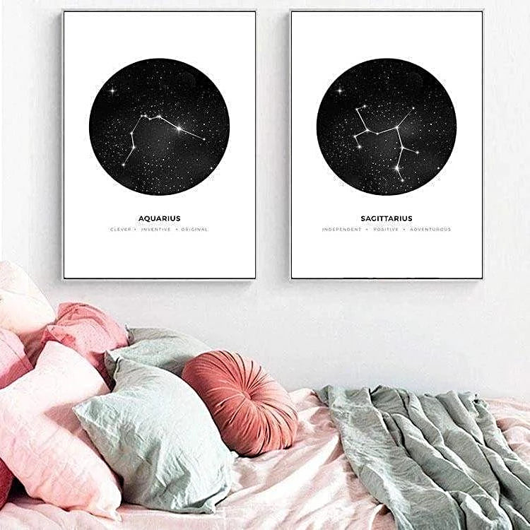 Personal Horoscope Canvas print - Wall Art