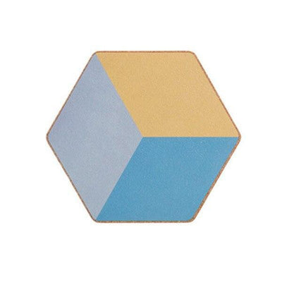 Geometric Placemat by Ingrid / 2pcs Coaster Calm (2pcs)