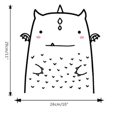 Cutie by Hexa Kids Wall Decals Wall decals Cutie 3