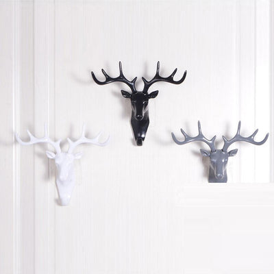 Success Montgomery Deer / 2pcs Wall hook White / 2pcs
