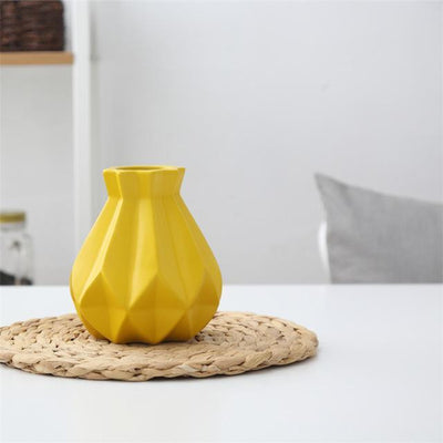 Princess by Jasmine Bergmann Vase Fresh Yellow / Medium